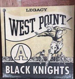 Army Football/Canvas Wall Art (14X14 inches)