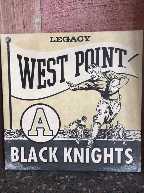 Army Football/Canvas Wall Art 14X14 - Daughters of the U.S. Army ...