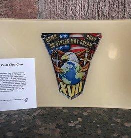 """2017 Class Crest Tray (6"""" x 10"""" x ½"""")"""