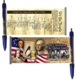 Constitution Scroll Pen