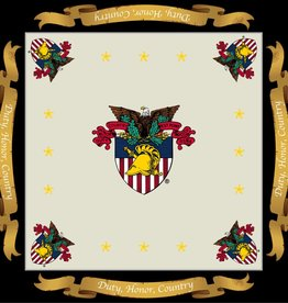 USMA Crest, Silk Scarf for Women (36 x 36 Inches)