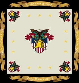 USMA Crest, Silk Scarf for Women (36 x 36 Inches)