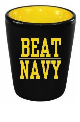 BEAT NAVY Shot Glass (2 ounce)