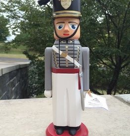 Authentic, Hand-Crafted, Wooden Nutcracker. Signed by Artist.