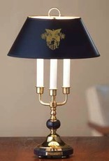 Traditional West Point Lamp in Brass (M.LaHart)