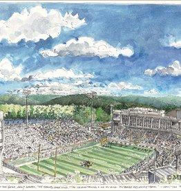 Framed Michie Stadium, West Point (M. Mullin)