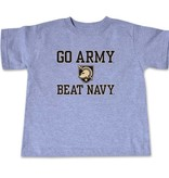 Toddler Short Sleeve Shirt (GO ARMY BEAT NAVY)