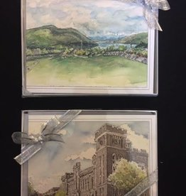 West Point Notecards Set (M. Mullin)<br /> (Six Per Box/2 Images)