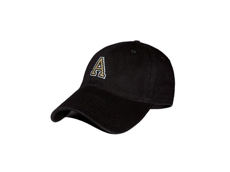 "Needlepoint ""A"" Baseball Cap (Smathers and Branson)"