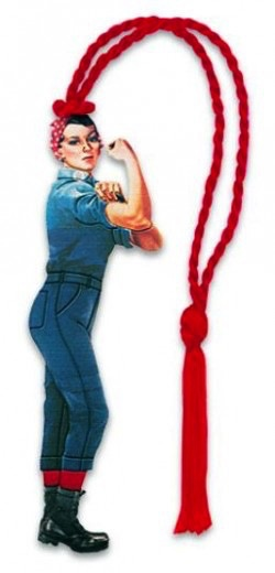Rosie The RIveter Bookmark (D. Howell)