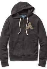 Vineyard Zip Front Hoodie (League Collegiate)