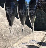 Crystal Toasting Glasses (LT, CPT or Mrs.)