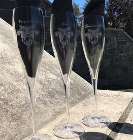 Toasting Glasses with Crest