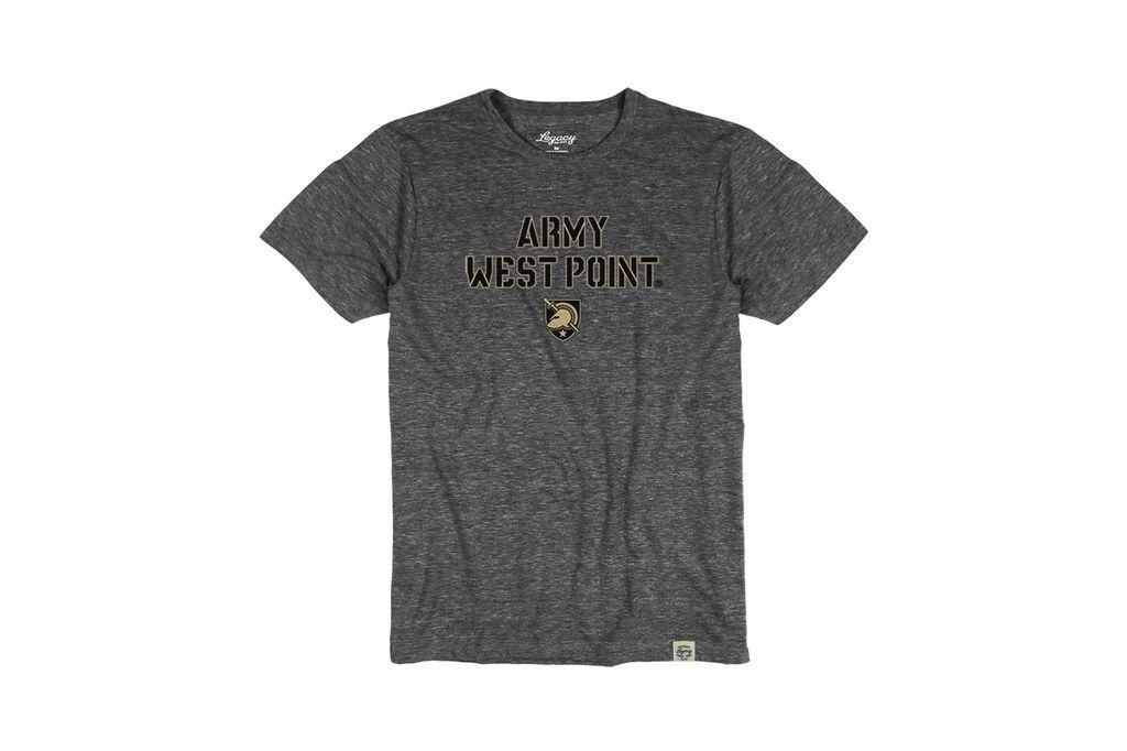 Youth Tri Blend Crewneck T Shirt (Legacy) Army West Point