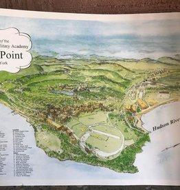 West Point Souvenir Map