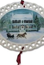 Quarters 100 Christmas Ornament