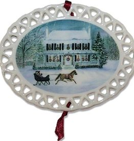 Quarters 100 Christmas Ornament