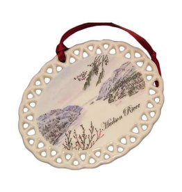 Hudson RIver Christmas Ornament