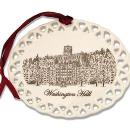 Washington Hall Christmas Ornament