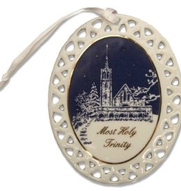 West Point Catholic Chapel Ornament