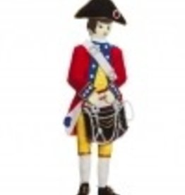 Revolutionary Drummer Ornament (St. Nicholas Ornament)