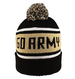 Collegiate Pom Hat (GO ARMY)
