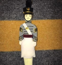 Female Cadet Ornament/Tarbucket/ (St. Nicholas Co.)