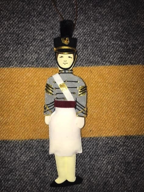 Female Cadet Ornament (St. Nicholas Co.)