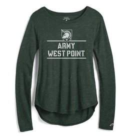 Long Sleeve Easy Tee (Women's)(League Collegiate)