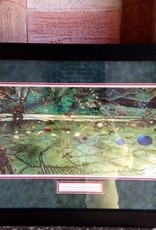 D-Day Mural (Green War Mural) Framed Print (21 x 33)
