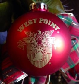 Red Christmas Ornament (Shatterproof)