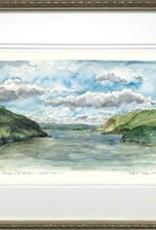 Framed MIdday on the Hudson
