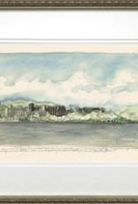 Framed Across the Hudson, West Point (M. Mullin Art)