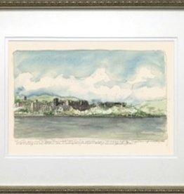 Across the Hudson, West Point (M. Mullin Art) Framed Artwork