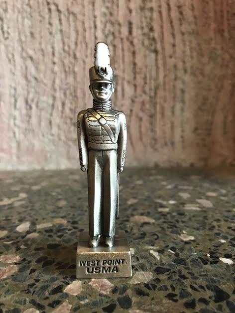 Large Female Cadet Pewter Figure (3.5 inch)