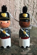 Male Cadet Ornament (Wooden)