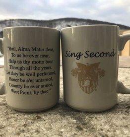 """Sing Second"" Mug (15 ounce)"