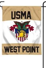 West Point Crest Garden Flag