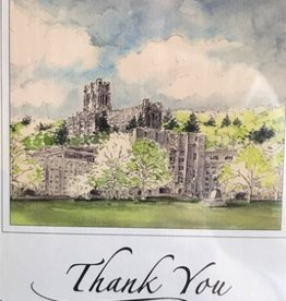 Single Thank You Notecard (M.Mullin)
