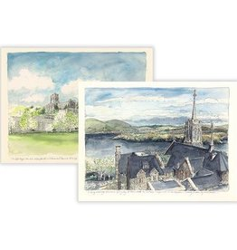 West Point Watercolor Notecard (One Individual Notecard)