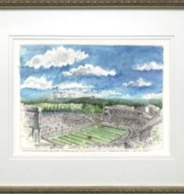 Framed Michie Stadium, West Point (Framed Print/M.Mullin)