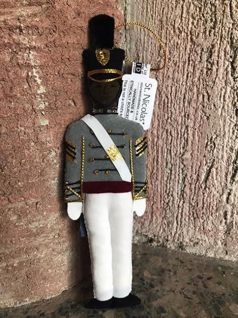 Male Cadet Ornament /Tarbucket/(St. Nicholas Ornament)