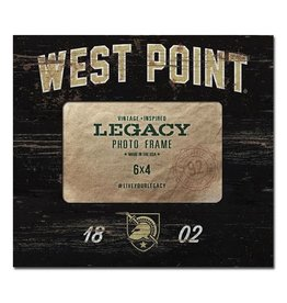 "Picture Frame with ""West Point"" and Athletic Shield"