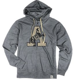 Men's Terry Fleece Full Zip w/ Kicking Mule (Legacy)