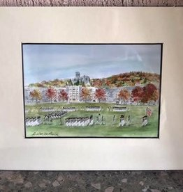 """""""Autumn Review"""" Watercolor (8 X 10 Matted)"""