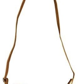 West Point Tan Leather Crossbody Bag (Zion Canyon)