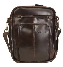 West Point Leather Media Bag (Monterey Canyon)