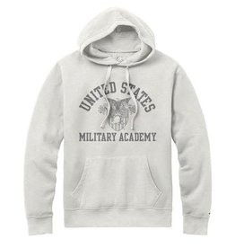 Men's Stadium Hood Sweatshirt/Oatmeal/Crest (League)