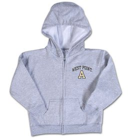 Infant Zip Hood (West Point/Gray or Pink)