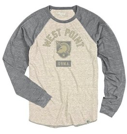 Men's Long Sleeve Baseball Triblend Tee